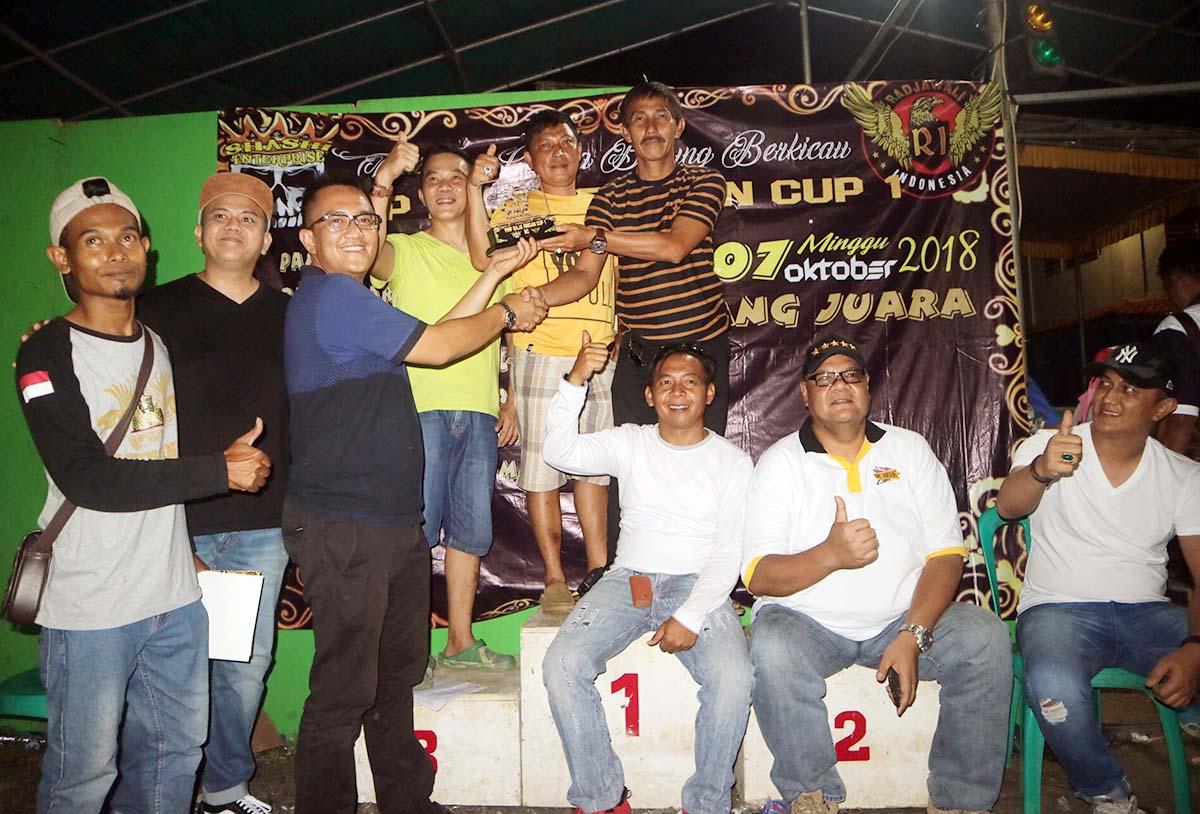 Daftar Juara Lomba Burung Berkicau PMP Baja Ringan CUP
