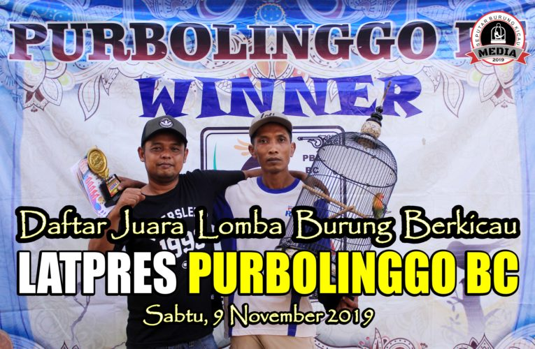 Daftar Juara Latpres PURBOLINGGO BC – Sabtu, 09 November 2019