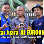 Daftar Juara Latber Jum'at Berkah AL FURQON BC - Edisi 15 November 2019
