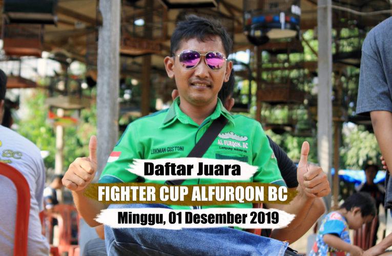 Daftar Juara FIGHTER CUP ALFURQON BC – Minggu, 01 Desember 2019